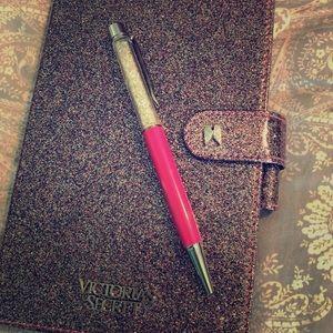 NWOT Victoria Secret Journal and Pen Set